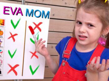 ایوا و مامان در چالش هالوین