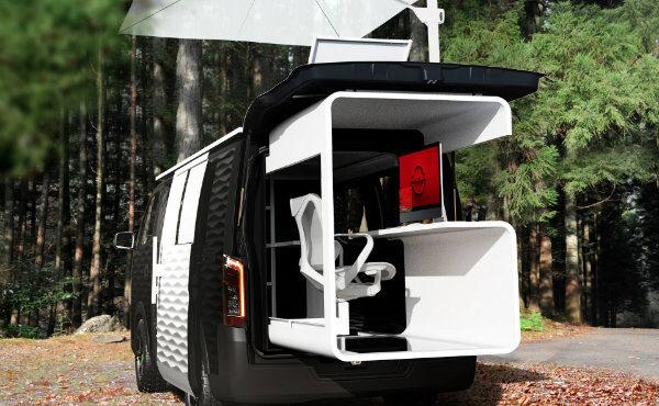 کانسپت نیسان NV350 Office Pod معرفی شد