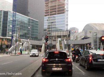 پنجاه و دو (52) دقیقه رانندگی در شهر پاریس فرانسه