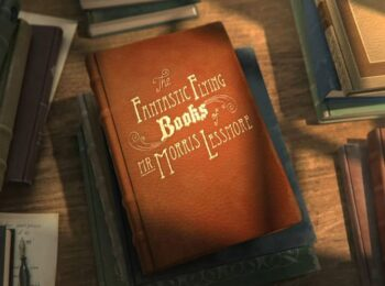 """انیمیشن کوتاه """"کتاب های پرنده آقای موریس لِسمور"""""""